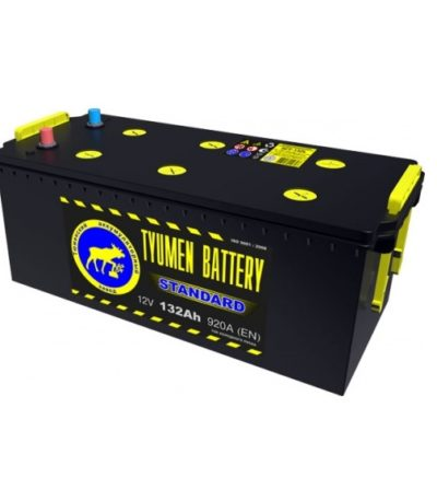 Аккумулятор Тюмень STANDARD 6СТ -132 L евро