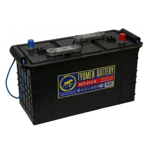 Аккумулятор Тюмень 3СТ - 215 N 6В сух. заряж