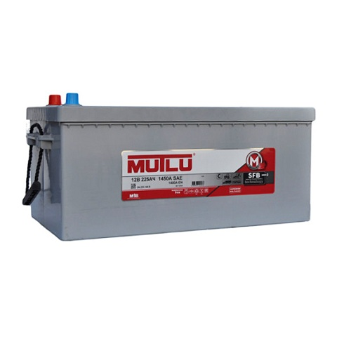 АккумуляторMutlu SERIE 1  6CT-  225 чёрный (1D6.225.140.B)