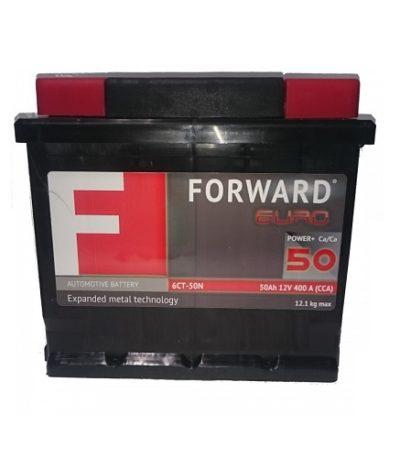 Аккумулятор FORWARD 6СТ- 50N (п.п.)