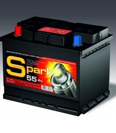 Аккумулятор SPARK 6СТ - 55.1