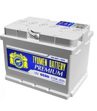 Аккумулятор Тюмень PREMIUM  6СТ -  61 L (о.п) низ.