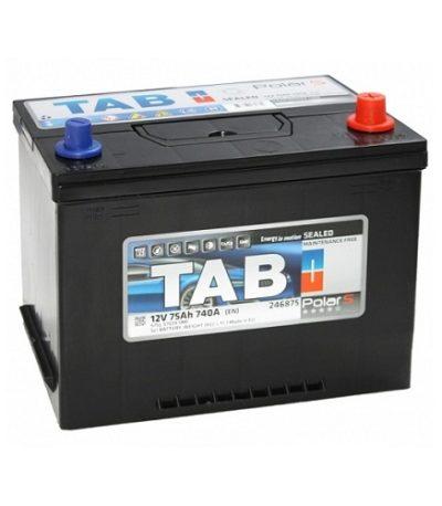 Аккумулятор TAB Polar S Asia 6СТ-75 R+