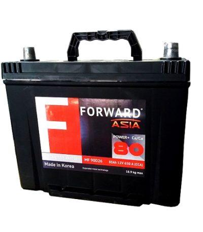 Аккумулятор FORWARD Asia MF 80 (п.п.)
