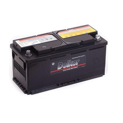 Аккумулятор DELKOR 6СТ-110 R+ (61038)