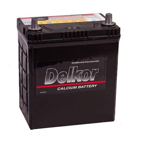 Аккумулятор DELKOR 6СТ-40  япон. ст. тонк.кл.