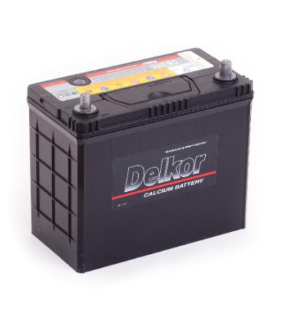 Аккумулятор DELKOR 6СТ-45   япон. ст. тонк.кл.