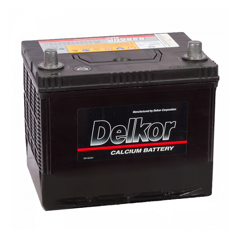 Аккумулятор DELKOR 6СТ-55 R+ япон. ст.