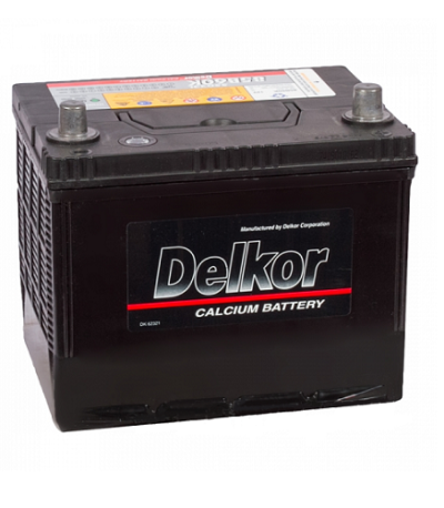 Аккумулятор DELKOR 6СТ-55 R+ япон. ст. толст.кл.
