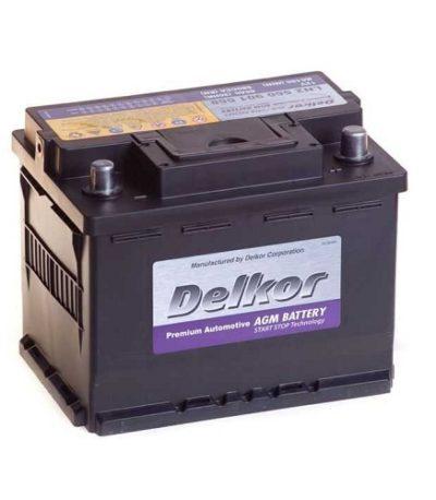 Аккумулятор DELKOR 6СТ-60 R+ (560 901 068) AGM