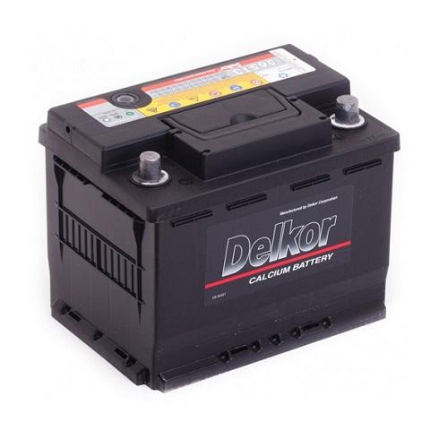 Аккумулятор DELKOR 6СТ-65 R+ (56513)