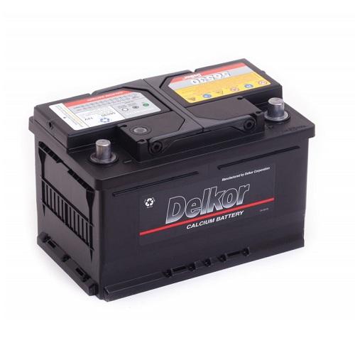Аккумулятор DELKOR 6СТ-65 R+ (56530)