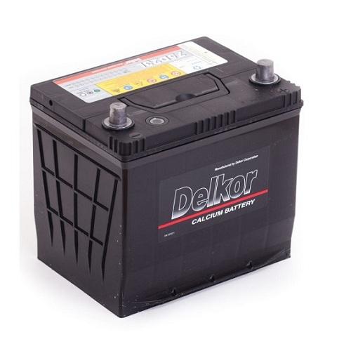 Аккумулятор DELKOR 6СТ-65 R+ япон. ст.
