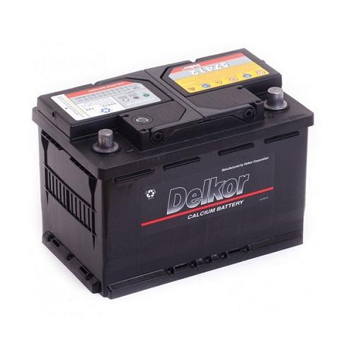 Аккумулятор DELKOR 6СТ-74 R+ (57412)