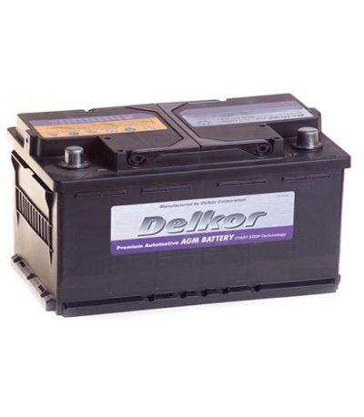 Аккумулятор DELKOR 6СТ-95 R+ (595 901 090) AGM