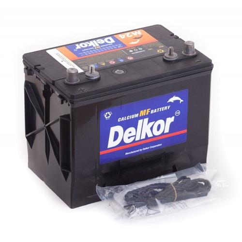 Аккумулятор DELKOR MARINE 6СТ-65  япон. ст. 4 клеммы