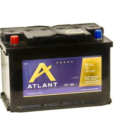 Аккумулятор ATLANT 6СТ- 66 NR