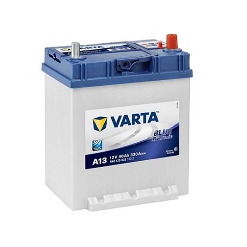 Аккумулятор Varta BD 6CT-40 R (A13) (о.п.) ниж креп.