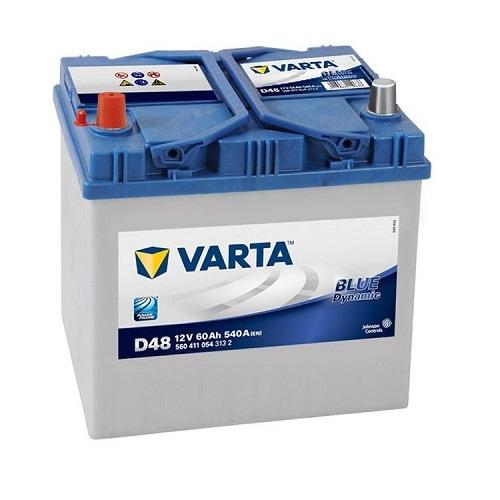 Аккумулятор Varta BD 6CT-60 (D48) (п.п.) яп.ст.
