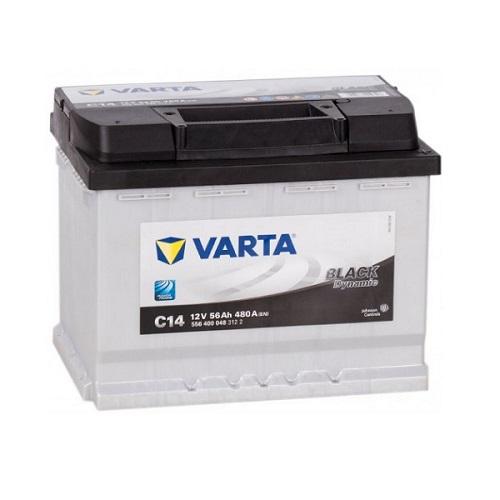 Аккумулятор Varta BlackDynamic 6CT-56 R (C14) (о.п.)