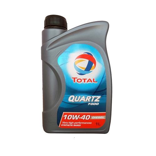 Масло моторное TOTAL QUARTZ 7000 10W40  1л