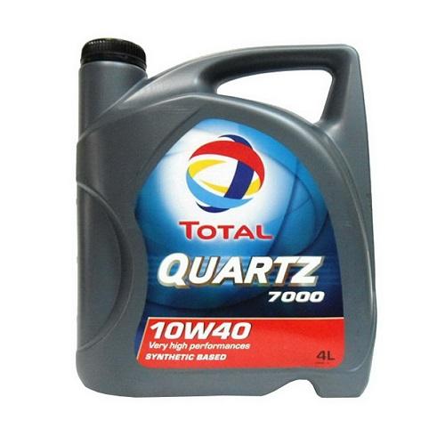 Масло моторное TOTAL QUARTZ 7000 10W40  4л