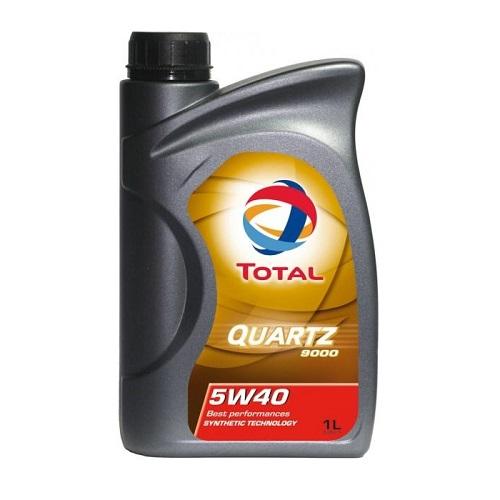 Масло моторное TOTAL QUARTZ 9000 5W40  1л