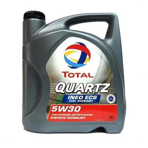 Масло моторное TOTAL QUARTZ INEO ECS 5W30  4л