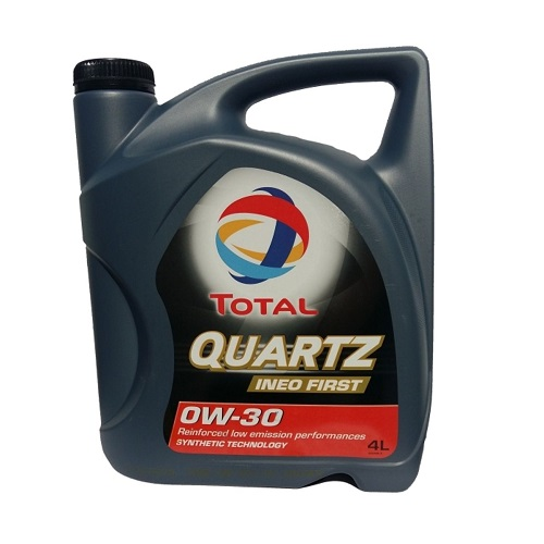 Масло моторное TOTAL QUARTZ INEO FIRST 0W30  4л