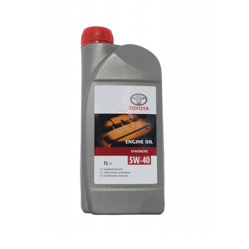 Масло моторное TOYOTA 5W40 SN/CF,GF-5(пластик)  1л