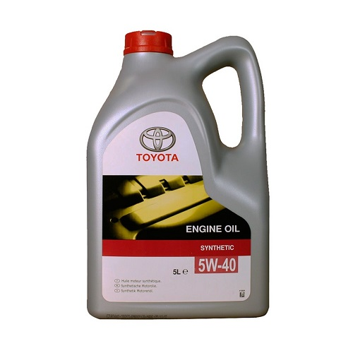 Масло моторное TOYOTA 5W40 CF/SL B3/A3/B4 (пластик)  5л