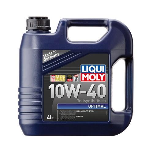 Моторное масло LIQUI MOLY LM Optimal 10W-40  4л