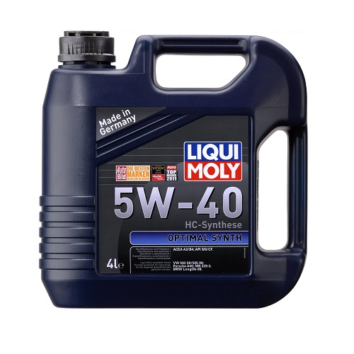 Моторное масло LIQUI MOLY LM Optimal HT Synth 5W-30  4л