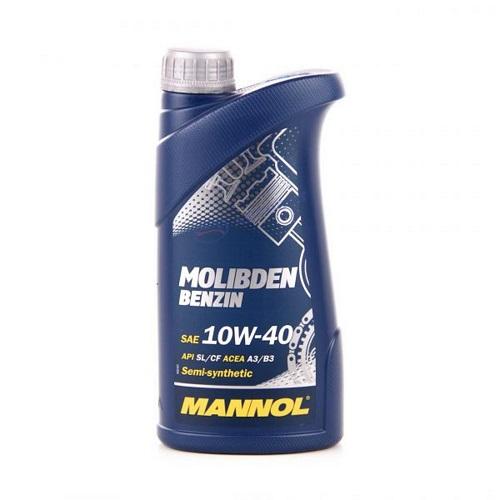 Моторное масло MANNOL Molibden Benzin SAE 10W40  1л