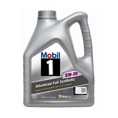Моторное масло MOBIL 5W-30 1FS  4л
