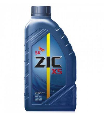 Моторное масло ZIC X5 5W-30 SN GF-5  1л