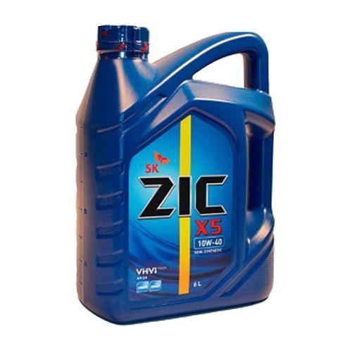Моторное масло ZIC X5 5W-30 SN GF-5  4л