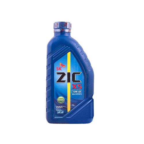 Моторное масло ZIC X5 DISEL 10W-40 CI-4  1л