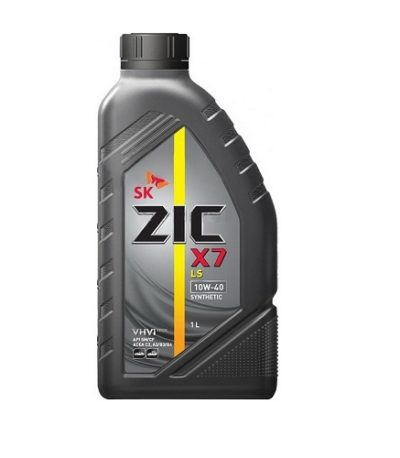 Моторное масло ZIC X7 5W-40 SN|CF A3|B4  1л