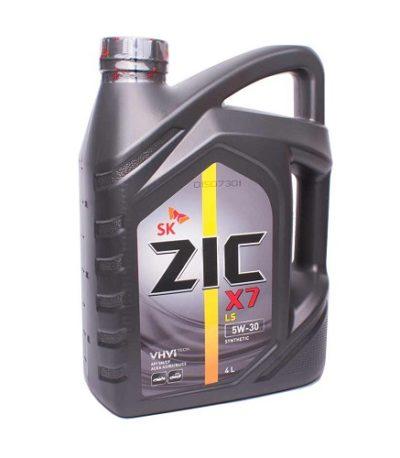 Моторное масло ZIC X7 5W-30 SN C3  4л