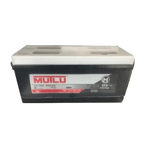 Аккумулятор Mutlu SERIE 1  6СТ- 135 ач евро.