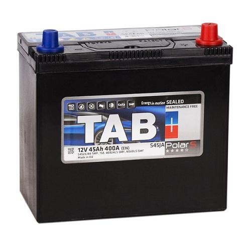 Аккумулятор ТAB Polar S Asia 6СТ- 45 ач п.п. тонк.кл. с переходн.
