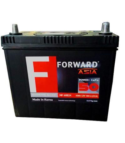 Аккумулятор FORWARD Asia MF 50 ач (о.п.)