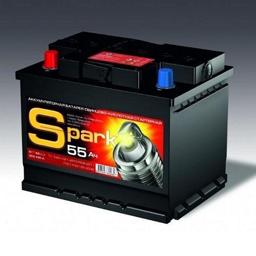 Аккумулятор SPARK 6СТ - 55.0