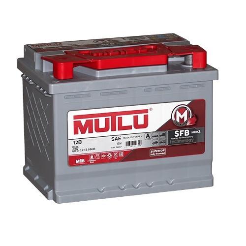 Аккумулятор Mutlu SERIE 2  6CT- 55 ач п.п.