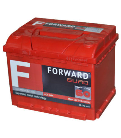 Аккумулятор FORWARD 6СТ- 60N (о.п)