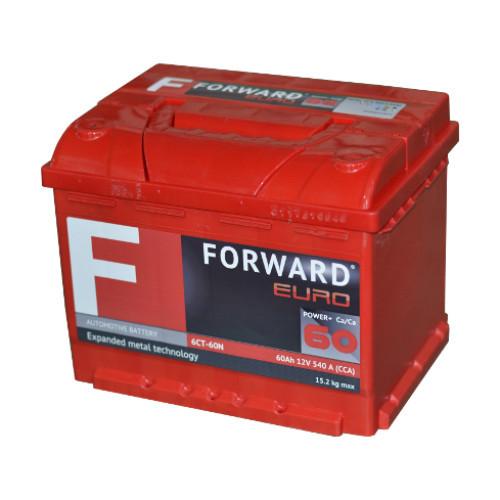 Аккумулятор FORWARD 6СТ- 60N (п.п)