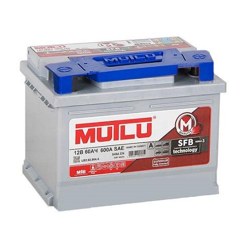 Аккумулятор Mutlu SERIE 3  6CT- 60 низ. (LB2.60.054.A)