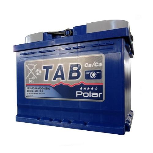 Аккумулятор TAB POLAR 6СТ- 60 ач п.п.