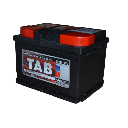 Аккумулятор TAB MAGIC 6СТ- 62 ач о.п. низкий